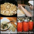 Eat well collage