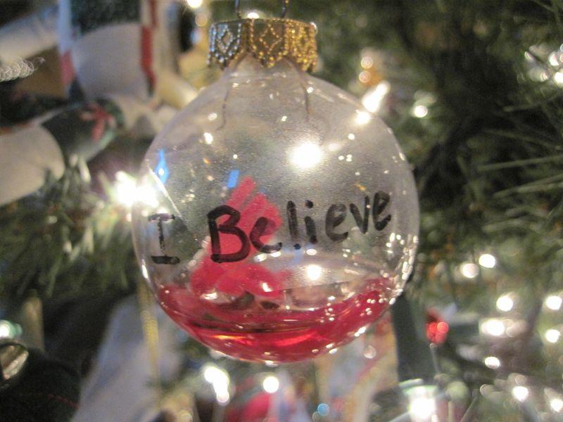 I believe ornament